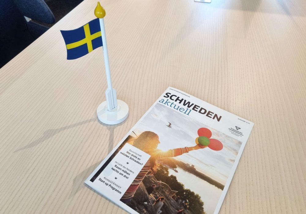 Magazin Schweden aktuell auf Tisch