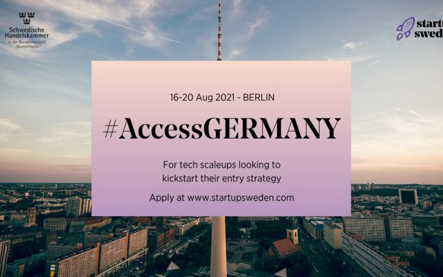 access germany bootcamp for tech scaleups, german market