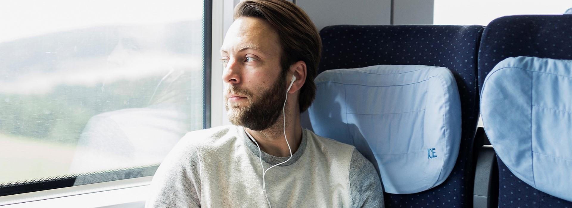 Member2Member Nextory Header Train Zug Hörbücher