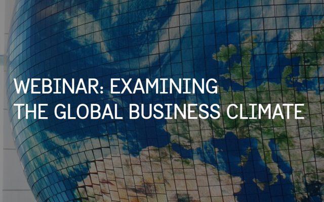 Global Business Climate Survey 2021 Swedish Chambers International Event