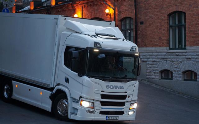 Scania Elektro LKW