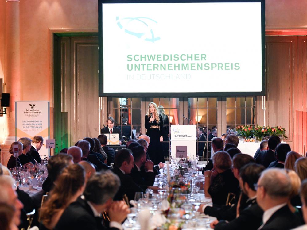 Schwedischer Unternehmenspreis, Galaabend Bayrischer Hof München