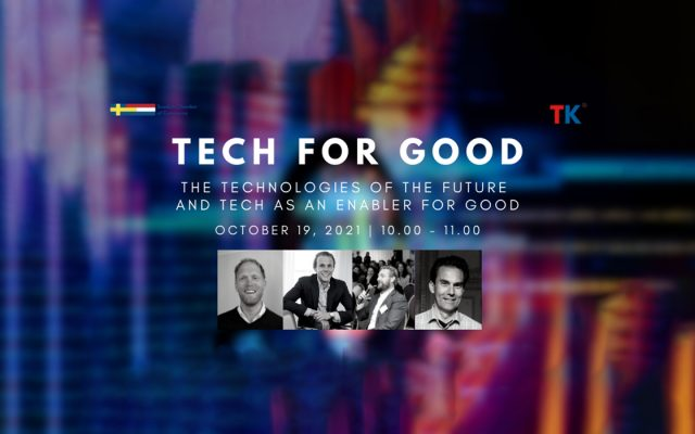 Tech for Good Header Event Swedish Chamber of Commerce for the Netherlands
